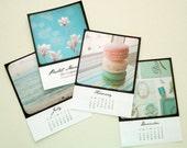SALE 50% OFF pastel memories 2011 mini photo calendar