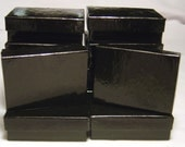 JEWELRY GIFT BOXES Black Gloss 3 x 2 x 1 (12)