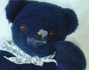 Blu'B Bear - OOAK 15 inch Teddy Bear Bumbl'B Bear
