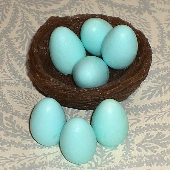 Bird's Nest Soap With Mini Robin Eggs