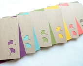 Ginkgo Delight Note Card Gift Set in Vibrant Hues