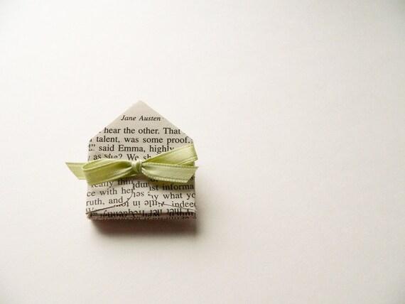 Jane Austen Miniature Envelopes - set of 12