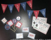 Fourth of July Printable Party Pack - Instant Download