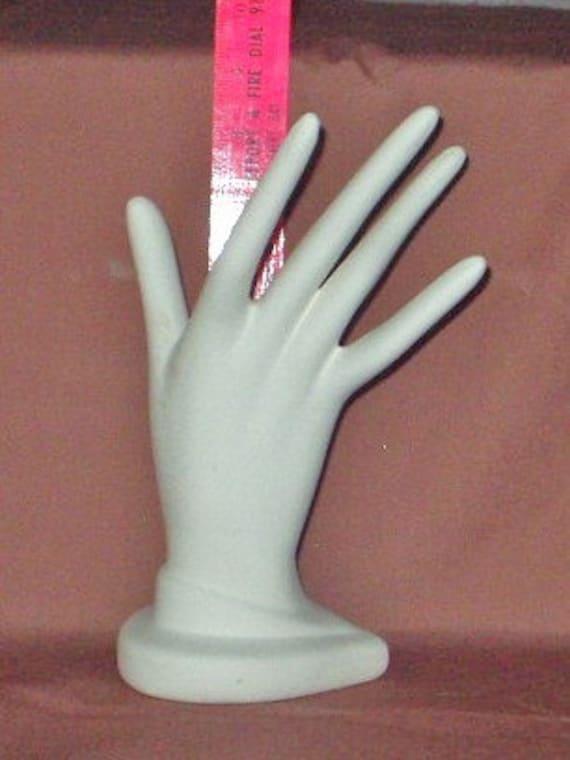 ceramic bisque 9 inch Ring Hand - u - paint