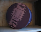 Bergdorf Goodman Vintage 10 inch hatbox LILAC BEAUTY