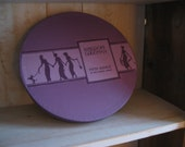 Bergdorf Goodman Vintage 12 Inch Hatbox LILAC  BEAUTY