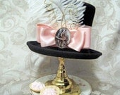 HALLOWEEN CLOSEOUT SALE Mini top hat: Bettina- Alice in Wonderland, steampunk, lolita