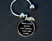 Key Ring - When Life Gives You Lemons