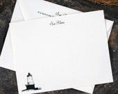 North Breakwater Lighthouse Note Cards - Set of 8