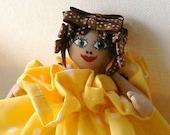 Handmade Daisy Mini Doll