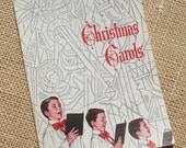 Vintage Christmas Carol Book Music Book 1960s for Crafting