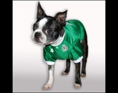 PERSONALIZED Green Mexico Dog Soccer Jersey