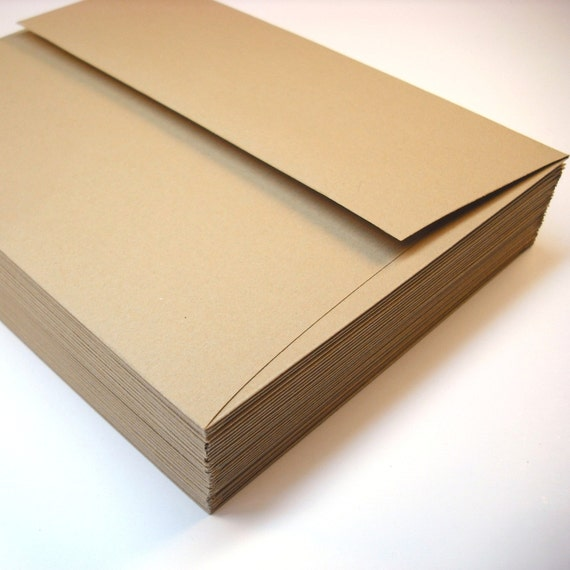 Envelopes A6 Gingerbread Brown 25 pack