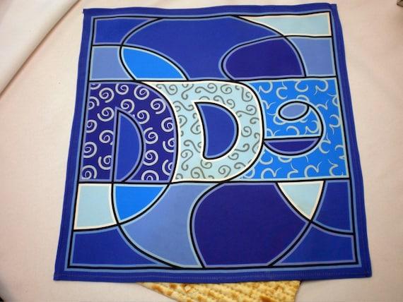 Matza Cover - Blue