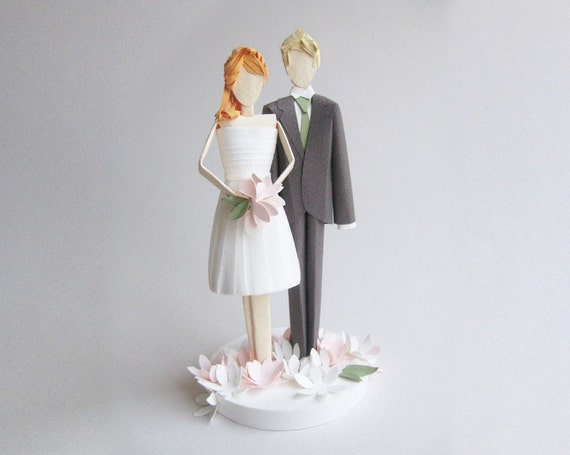 redhead wedding cake topper unavailable listing on etsy 19127
