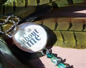 It's All About Me Soldered Glass Bauble Necklace