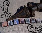 Wooden Tile Halloween Bracelet No. 2