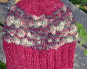 Shades of Red Bubble Hat