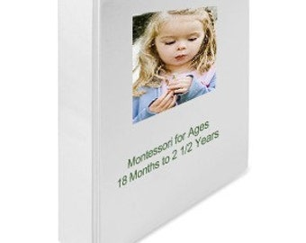 Montessori Toddler Homeschool Teaching Curriculum Baby Shower Gift