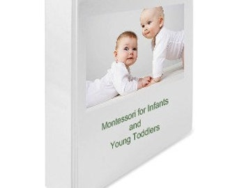 Montessori Teaching Album for Babies Infants Toddlers