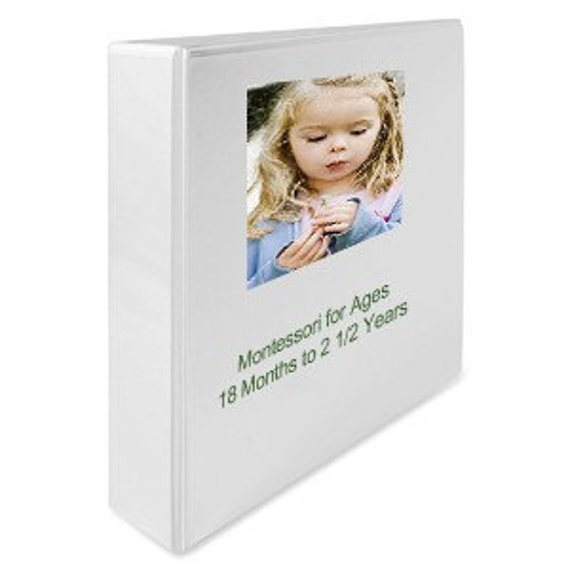 Montessori Curriculum Teaching Album for Toddlers