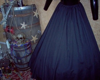 Renaissance Pirate Skirt Plus Sizes Available In Other Colors