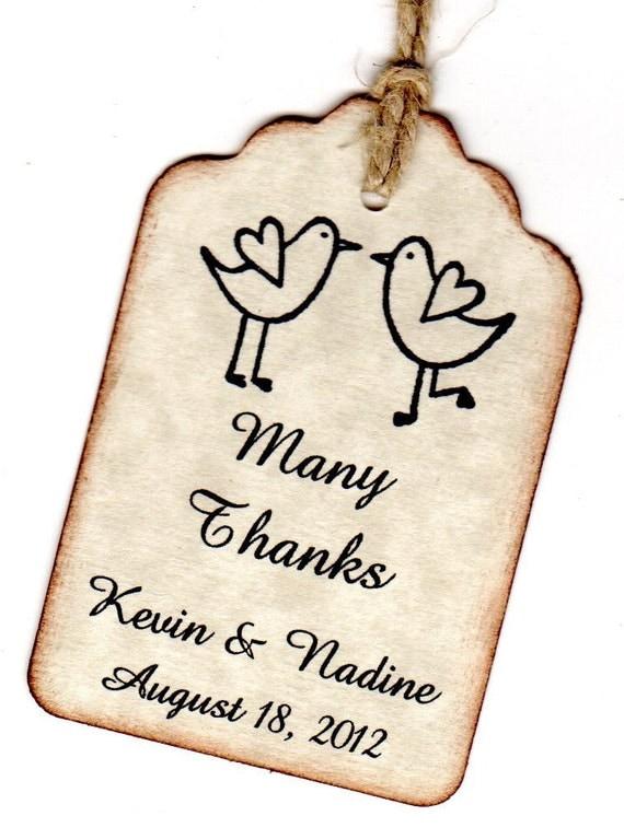 Wedding Gift Tag Maker : Thank You Tags / Wedding Tags / Favor Tags / Gift Tags / Shower Tags ...