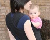 Baby Carrier (Wrap) BLACK STRIPE
