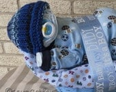Premium Napping Baby Basket(TM) in Blue
