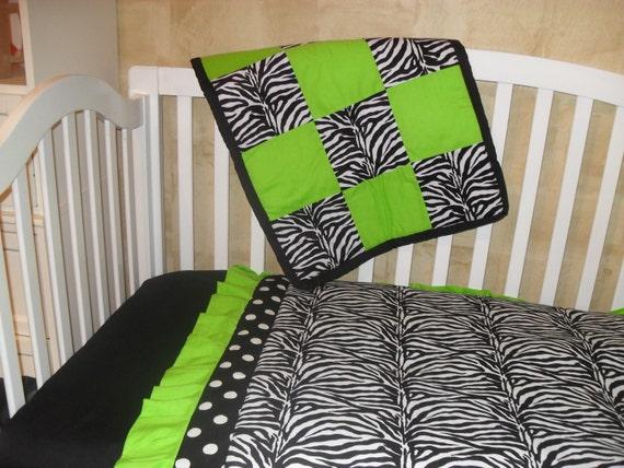 Custom Made Toddler/Crib Bedding