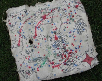 Ye Olde Treasure Map