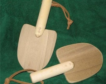 Toy Wooden Shovel Just Right Size