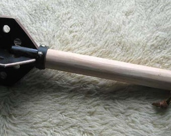 Wood and Leather Mace