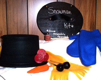 Snowman Kit...Some Assembly Required