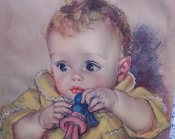 SALE  Baby Picture by Maud Tousey Fangel