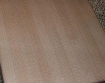 "Hard Maple Cutting Board 18"" x 18"" x 1-1/2"""