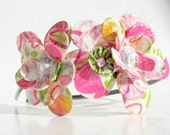 Springtime Daisy Blooms Paper Mache Headband