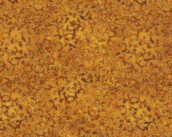 Gold Harvest Metallic Fusions - Robert Kaufman - Fat Quarter