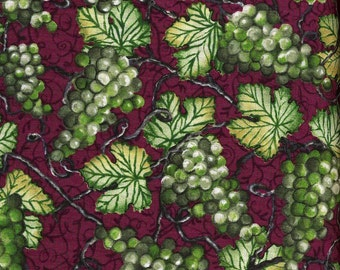 Green Grapes from Wine Country - South Seas Imports - Half Yard