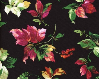 Allure Leaves - Exclusively Quilters - Half Yard