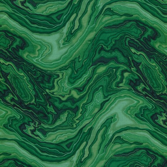 Tales of the Riverbank - Malachite  - Freedom Fabric London  - 1 yard - More Available