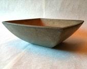 Minimalist - Concrete Bowl - Gray - Taper