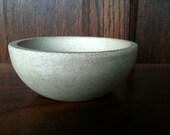 Small Concrete Bowl - Cup - Minimalist
