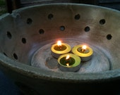 Flame Bowl - Concrete - Rustic Grey