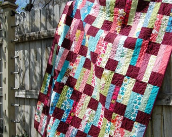 Steppin' Out Quilt Pattern by fresh cut quilts downloadable pdf