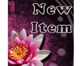 Waterlily Etsy Shop Set: Banners and Avatars - one of a kind design