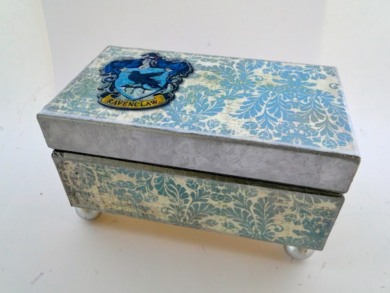 Harry Potter Ravenclaw Keepsake Trinket Box Smaller Edition