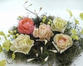 Gumpaste - Sugar Peonies - handcrafted - your choice of colors