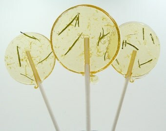 Grapefruit Rosemary Lollipop - featured in Real Simple magazine