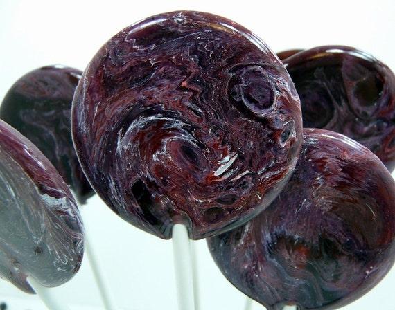 Blackberry Merlot Mulled Wine - Lollipop